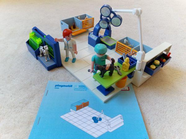 Playmobil 4346 Tierarztpraxis Röntgengerät Computertomograph