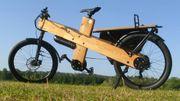 Lastenrad E-Bike Cargo Bike Bauplan