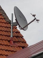 Satelliten Schüssel oval