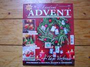 LandIdee Advent Adventskalender Dekorieren Basteln