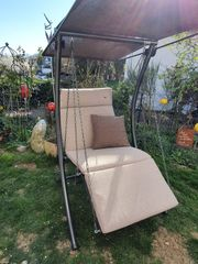 Neuwertige Hollywoodschaukel 1-Sitzer Swing Smart