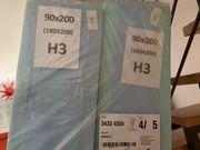 Zwei neue originalverpackte Matratzen 90x2900