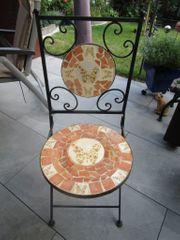 Stuhl klappbar Klappstuhl Gartenstuhl Vintage