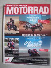 NEU ungelesen Zeitschrift MOTORRAD 07