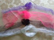 Kinderhaarschmuck Haarschmuck 3 Tüllbänder 1