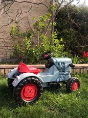 Traktor Trettraktor Kinder Eicher