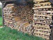 Brennholz Fichte und Föhre