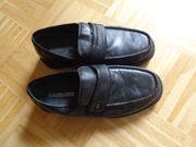 Vintage - Herren-Schuhe Business-Slipper Gr 41