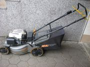 Starker Benzinrasenmäher Grasfangbox Hersteller APL