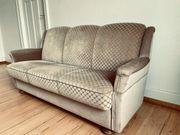 vintage couch mit Schlaffunktion