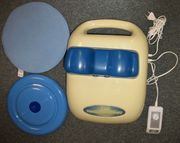 Chi Massagegerät mit Auflagescheibe und