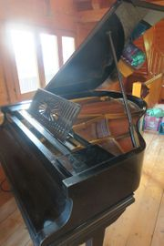 Klavier - Schwarzer Flügel zu verschenken