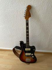 Fender Jazzmaster E-Gitarre 3-Colour Sunburst