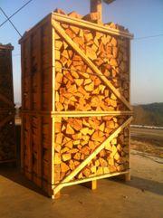 Ofenfertiges Brennholz Kaminholz - reine Buche