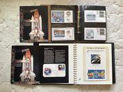 Briefmarkensammlung Welt und viele Weltraumbriefe