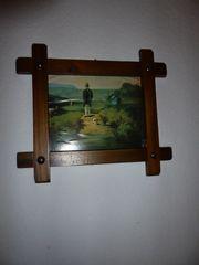 Wandschmuck teilw antik Bilder Relief