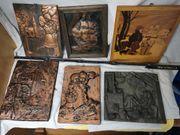 Relief Kupferarbeiten