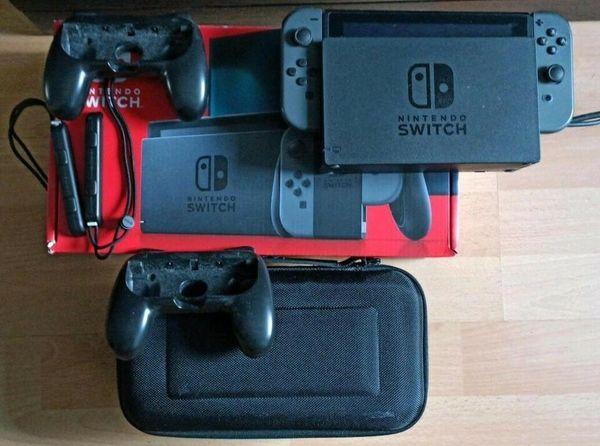 Nintendo Switch Konsole mit Zubehör