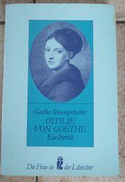 Ottilie von Goethe Goethes Schwiegermutter