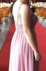 Abendkleid Abi Kleid mit Schuhen