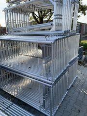 Aluminium Gerüst Fassadengerüst Plettac Baugerüst