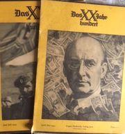 Antiquarische Zeitschrift Das XX Jahrhundert