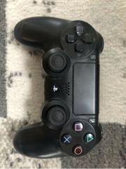 PS4 Controller Dualshock 4 Schwarz