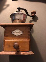 seltene antike Kaffeemühle Leinbrock Werke