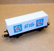 Roco Modelleisenbahn H0 Containertragwagen Schöller