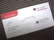Gutschein Sanitätshaus Wilhelmi Neuss