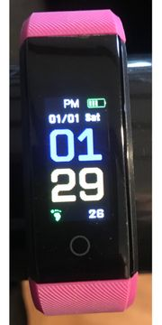 Sportuhr - Fitness Armband Pulsmesser Schrittzähler
