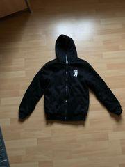 Schwarze Sweaterjacke Juventus