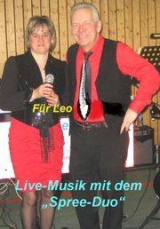 Weihnachtsfeier mit dem Spree-Duo