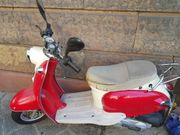 Retro Motoroller 50cm² benzin super