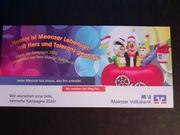 4 Tickets für MCC-Fastnachtssitzung im