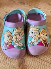 Schöne Original Crocs Frozen Schuhe