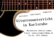 Privater Gitarrenunterricht in Karlsruhe