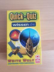 Quick-Quiz wissen de Weite Welt