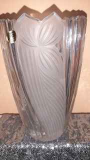 Kristall-Vase