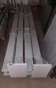8xStahlträger Stahlstützen
