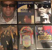 Original Musik DVDs 16 Stück