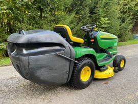 Traktoren, Landwirtschaftliche Fahrzeuge - Aufsitzrasenmäher John Deere LTR 180