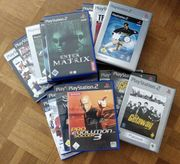 Playstation 2 PS 2-Games - Spiele-Paket