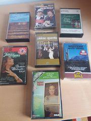 Verschiedene alte Kassetten