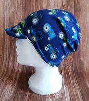 NEU - Schirmmütze Mütze - Trecker blau -