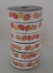 6x Geschenkbänder Bastelbänder