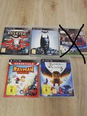 5 x PS 3 Spiele