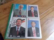 1 FCN-Autogrammkarten - 74 Karten ca