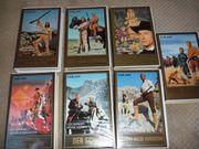 7 VHS Videos von Karl
