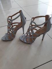 High Heels silber Damenschuhe pumps
